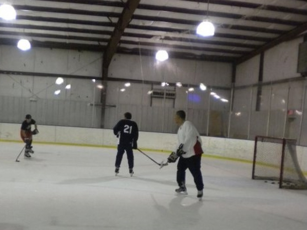 Stick and Puck Sessions at Planet Ice Rink